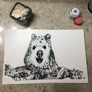 Other - Hand drawn Australian Quokka print